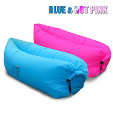 Hangout Laybag Inflatable Air Bag Picnic Beach Holiday Sleeping Sofa Bed---2PCS