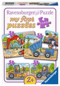 Puzzles & Geduldspiele Ravensburger Puzzle Bei Der Arbeit My First Puzzles Kinderpuzzle Puzzlespiel 8 T