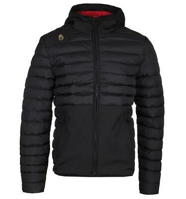 classic good service cheap prices LUKE 1977 Black Bubbla Quilted Jacket Water Resistant Puffer with ...