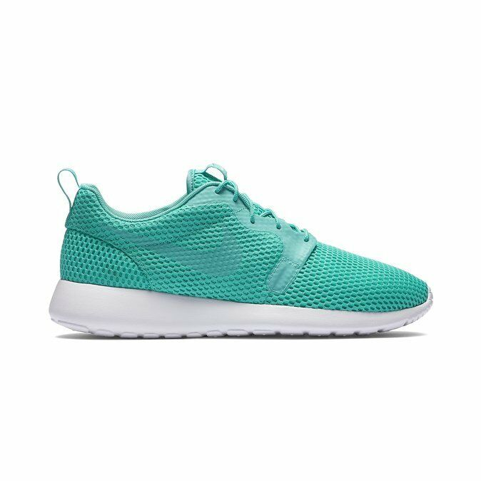 New Nike Men's Roshe One Hyperfuse BR shoes (833125-300)  Clear Jade White