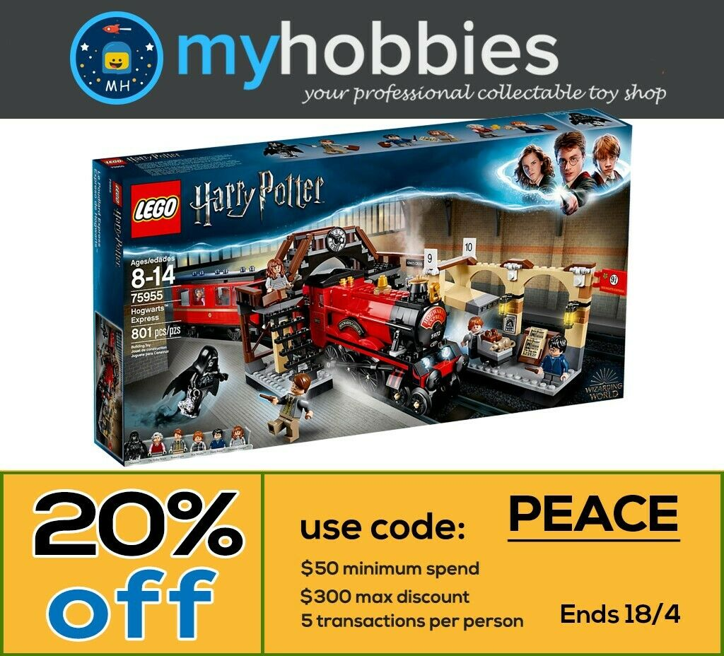 LEGO 75955 Harry Potter Hogwarts™ Express Brand New New New and Sealed Free shipping 99dbf0