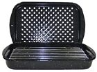 Granite Ware 3Piece Bake, Broil, and Grill Pan Set, New, Free Shipping