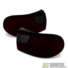 Red Smoked 1997-2003 Chevy Malibu Replacement Tail Lights Brake Lamps Left+Right