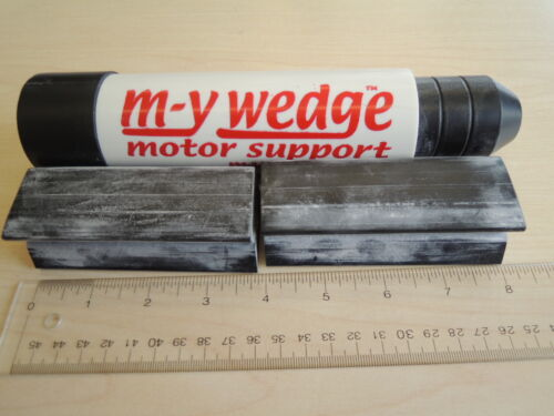 M-Y Wedge transom saver motor toter support and steer stop Yamaha outboards
