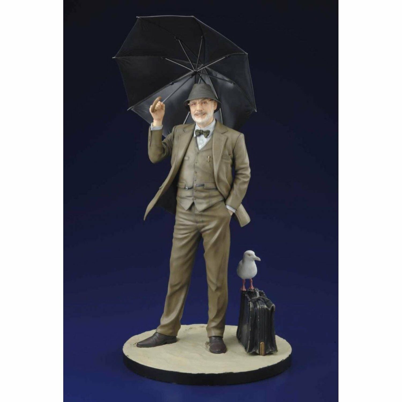 Indiana Jones Henry Jones cifra Kotobukiya Diorama Statue   Ritorno di 10 giorni
