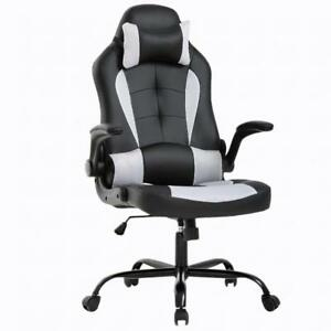 Wondrous Details About Gaming Office Chair High Back Pu Leather Racing Chair Reclining Computer Chair Ncnpc Chair Design For Home Ncnpcorg