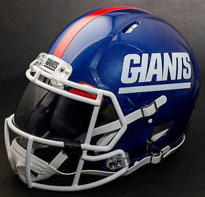 NEW YORK GIANTS NFL Authentic GAMEDAY Football Helmet w  OAKLEY Eye ... dc5eeb6c5