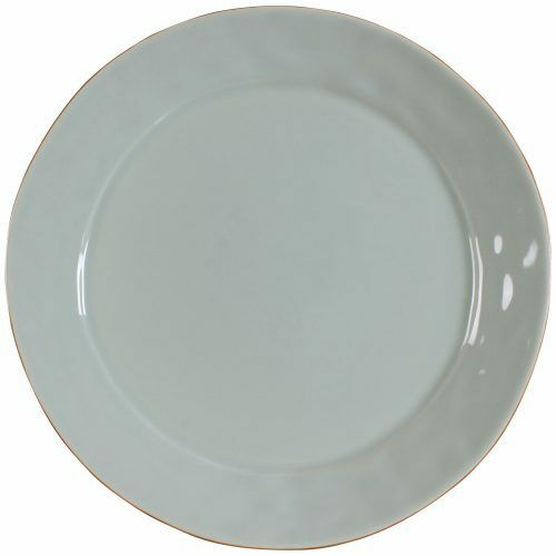 Skyros Designs CANTARIA Chargeur Serving Platter, Transparent Bleu
