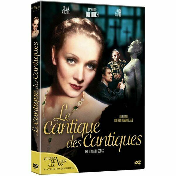 DVD Le cantique des cantiques - Marlene Dietrich, Brian Aherne, Lionel Atwill, A