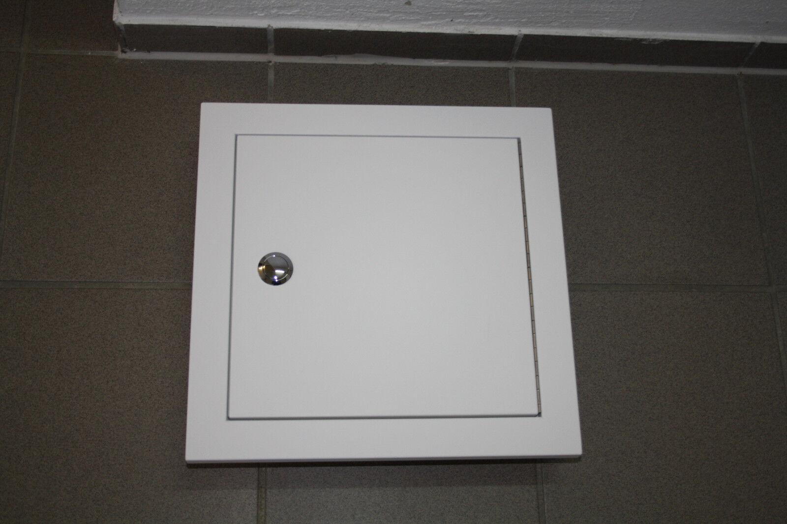 Wäscheschacht , Schachttür 300 mit versenkbarem Drehknopf