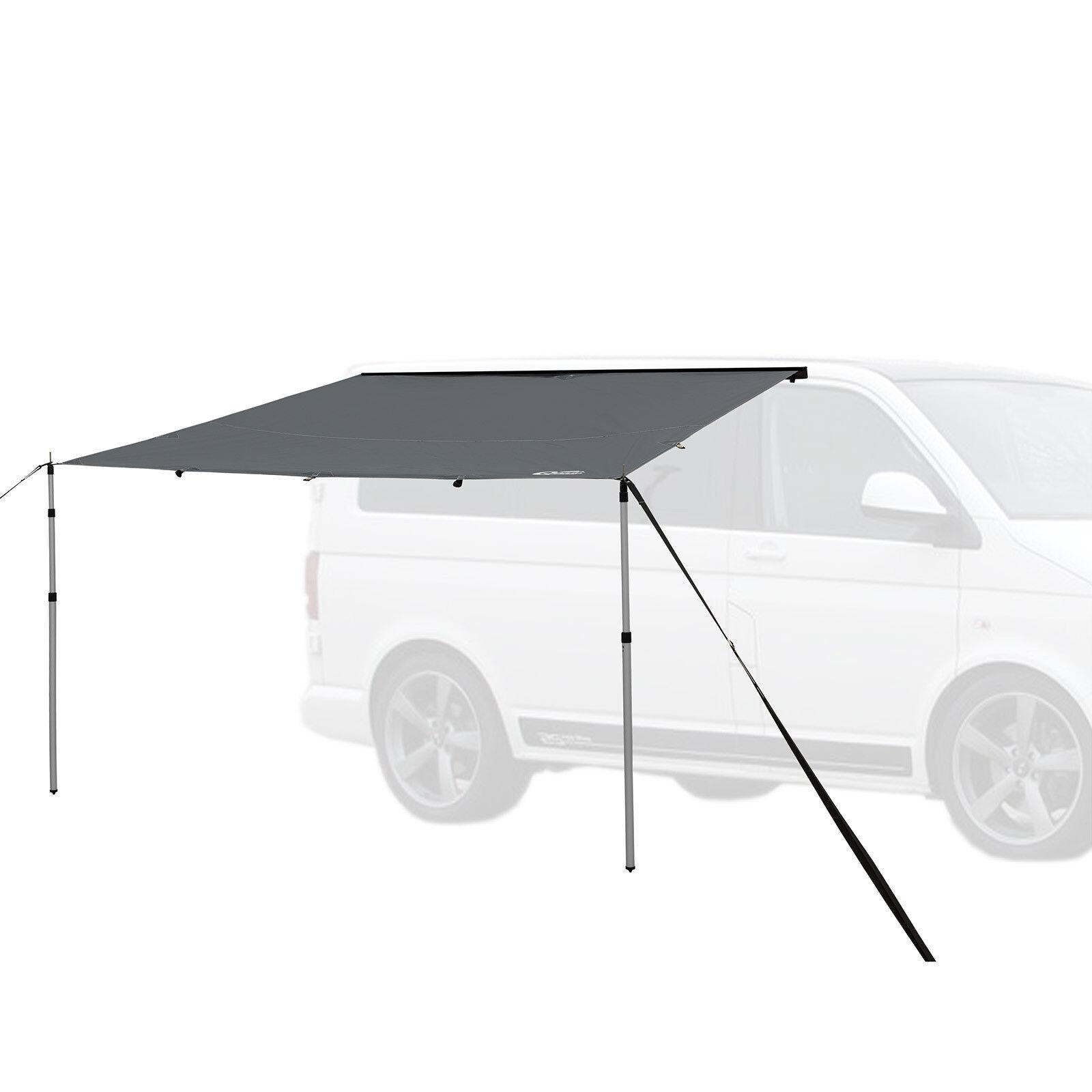 QEEDO Motor Tarp Campingbus Sonnensegel Camper Vorzelt 2 5x2 5m Wasserdicht