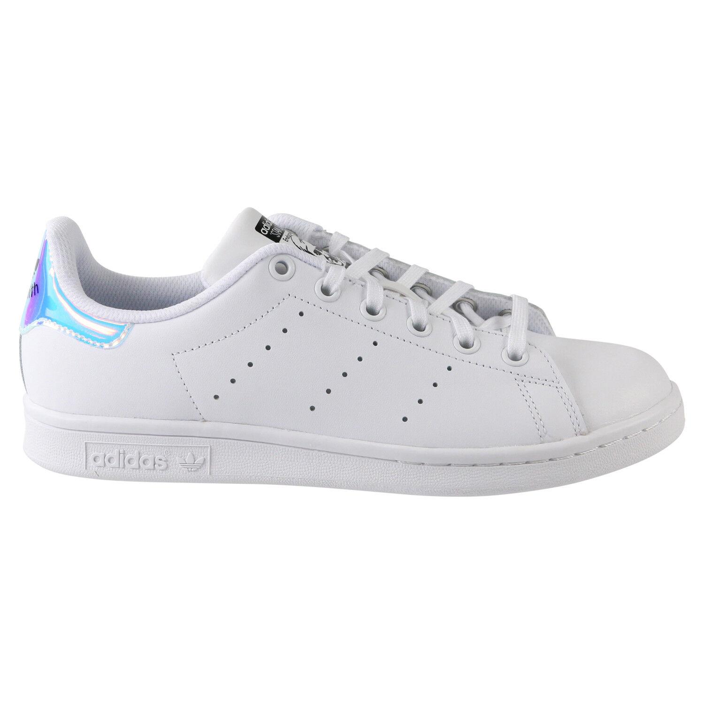 adidas Stan Smith Junior Sneaker Schuhe Kinder Damen Weiß AQ6272