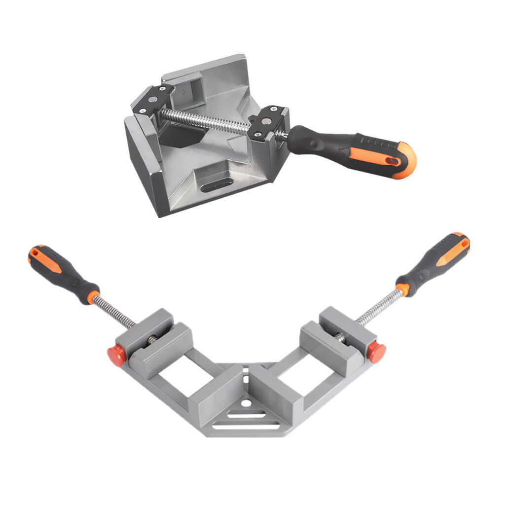 2pcs 90 Degree Corner Clamp Wood/Metal Working Right Angle Frame Vice Tool