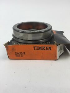 Timken 2582 Tapered Roller Bearings New in Box