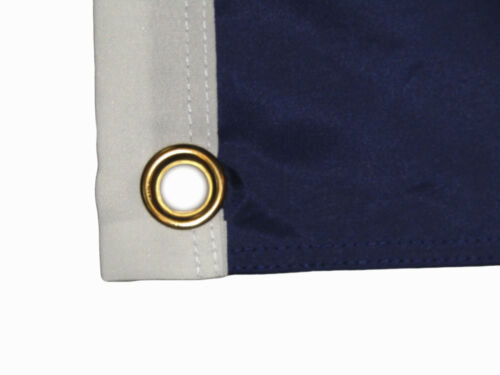 2x3 Embroidered Double Sided Louisiana 300D Nylon Flag 2/'x3/' 2 clips