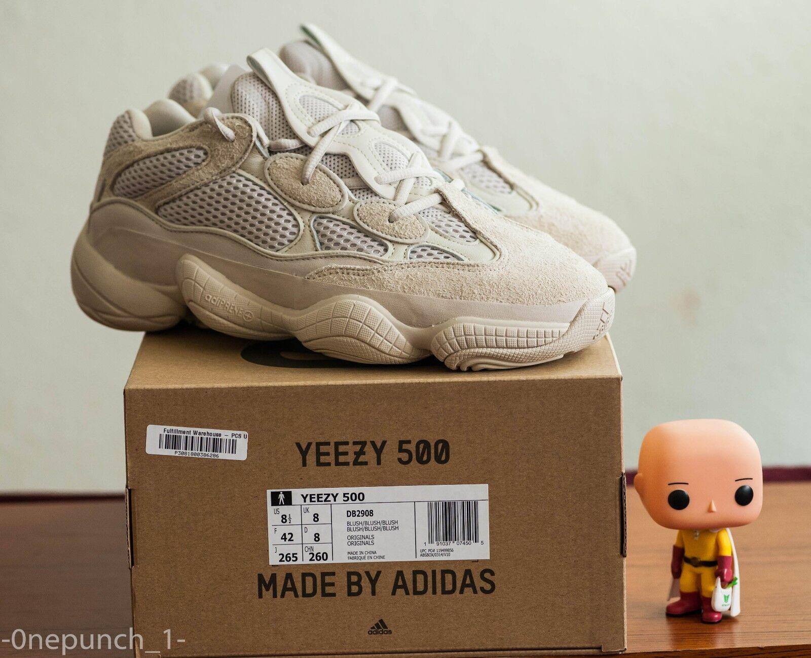 DS Adidas Yeezy 500 8.5 bluesh 350 v2 700 750 desert rat boost crepe