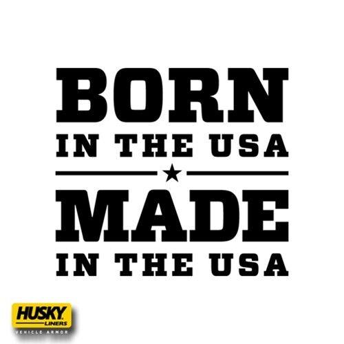 14-18 Chevy Silverado 1500 Crew Cab Husky Liners WeatherBeater Rear Floor Mats