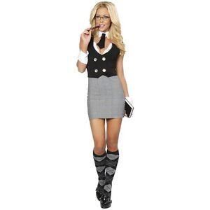 Sexy-Librarian-Costume-Adult-Teacher-Secretary-Halloween-Fancy-Dress