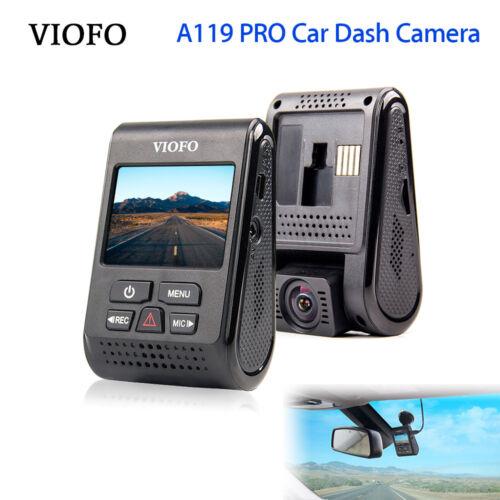 "A119PRO VIOFO 2K HD 30fps Car Dash 2.0/"" Screen Camera DVR Capacitor Video Record"