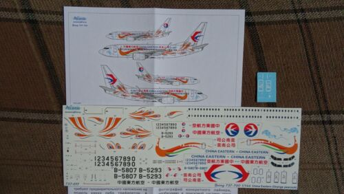 Decal for Boeing 737-700  1//144  Zvezda kit    CHINA  EASTERN