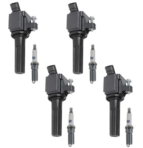 4 GM OE Ignition Coils and 4 ACDelco Spark Plugs Kit For Canyon 2.9L VIN 9 07-12