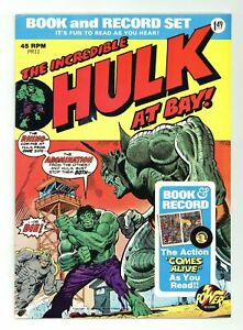 Incredible-Hulk-Book-and-Record-Set-PR11-R-FN-VF-7-0-1974