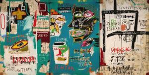 Jean-Michel-Basquiat-Print-on-Canvas-Abstract-art-wall-decor-sale-Ishtar-24x48-034