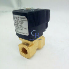 Ac 220v G12 Brass Electric Solenoid Valve For Water Waterproof Normally Closed
