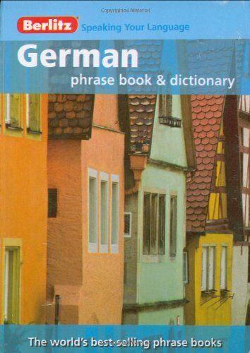 Berlitz: German Phrase Book & Dictionary (Berlitz Phrasebooks) By Berlitz