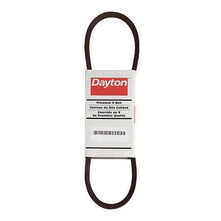 """DAYTON 3X647 21//32/"""" W x 88/"""" L V-Belt 1 Rib B85"""