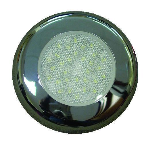 LED Down Lights, 12v Cabin Lights for Caravans, Cool White, 192 Lumen