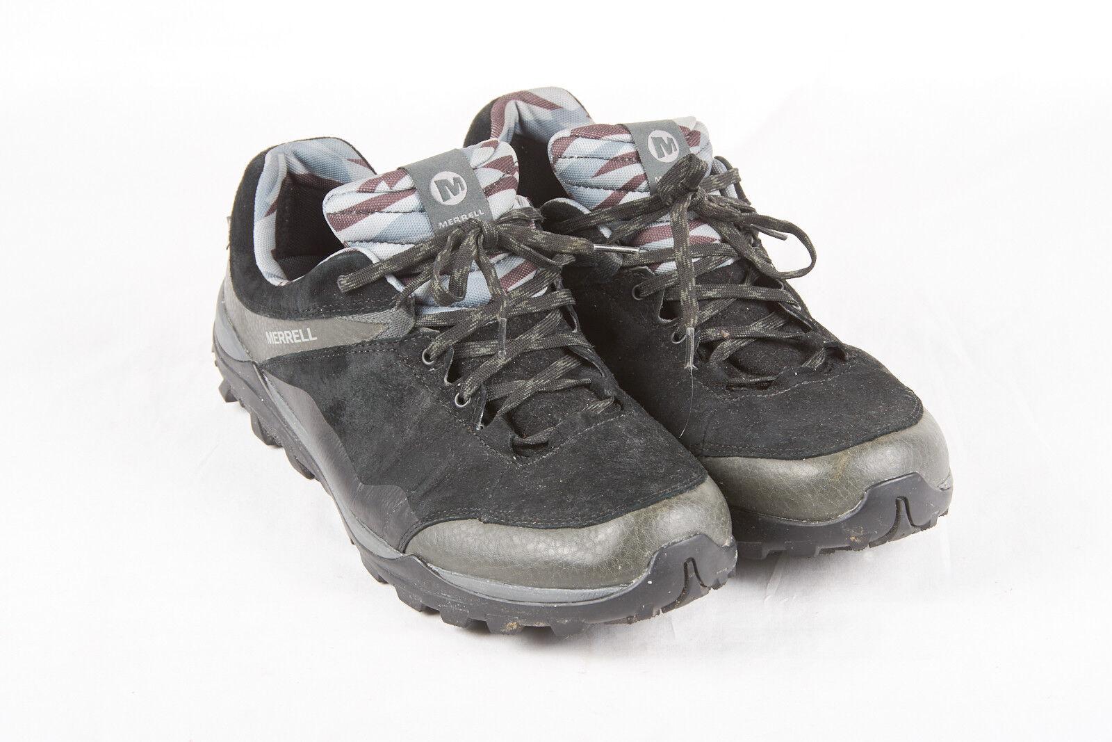 Herren Merrell Schuhe Größe 12 in Rabe Rabe Rabe Schwarzes Veloursleder J32175 Fraxion 0e1da9
