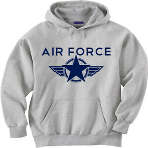 Air Force Sweatshirt Mens Graphic Hoodie Clothing Air Force Gifts Sweats