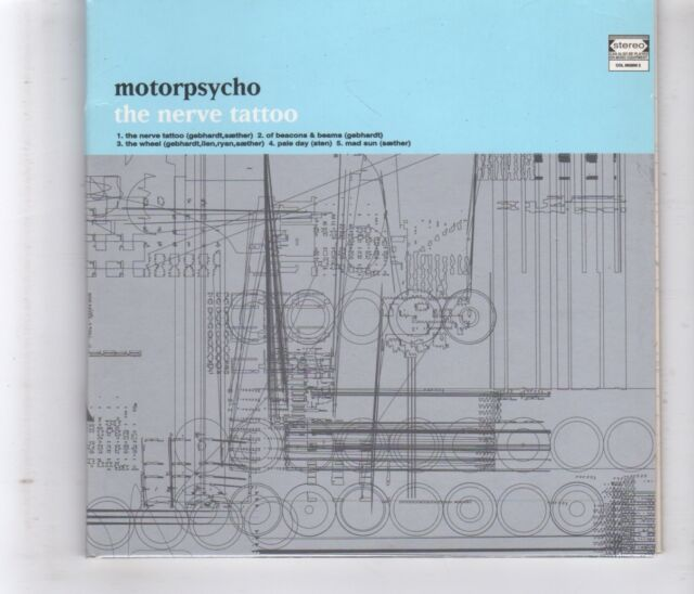 (HL106) Motorpsycho, The Nerve Tattoo - 1996 CD