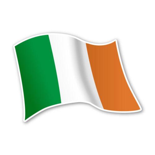 Irland Flagge Ireland Autoaufkleber Sticker Fahne Aufkleber DRU 0068