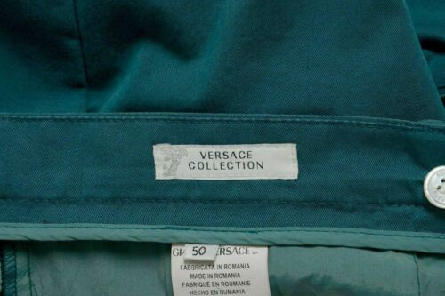 34 Pine Usa Uomo Casual Versace Collection It 50 Verde Pantaloni c106S0fqP