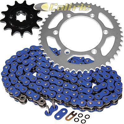 Blue O-Ring Drive Chain /& Sprockets Kit Fits YAMAHA TTR230 TT-R230 2005-2016