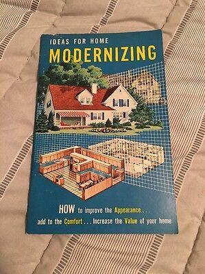 Vintage 1953 Ideas for Home Modernizing Paperback   eBay