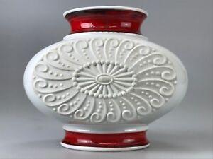 60er-70er-Jahre-Vase-Blumenvase-Tischvase-Porzellan-Space-Age-Design-60s-70s