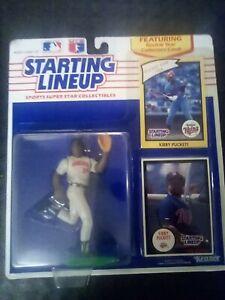 KIRBY PUCKETT 1990 - MLB STARTING LINEUP SLU MINNESOTA TWINS - NEW