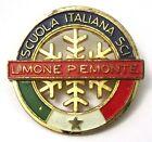 Spilla Scuola Italiana Sci Limone Piemonte 1 Stella (Bertoni Milano)