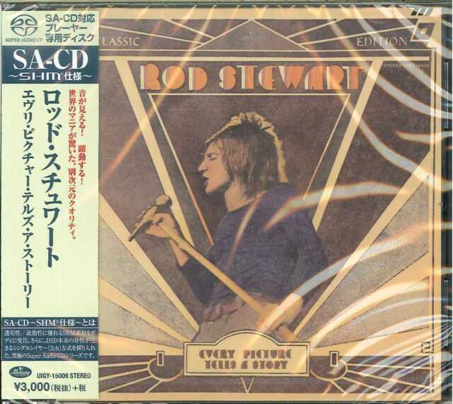 ROD STEWART-EVERY PICTURE TELLS A STORY-JAPAN SHM-SACD G88