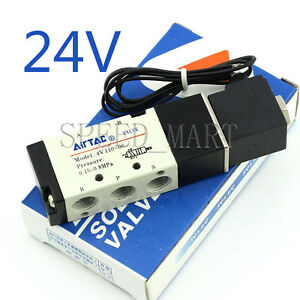 DC24V-Solenoid-Air-Valve-4V110-06-5-port-2-position-1-8-034-BSP-for-air-cylinder