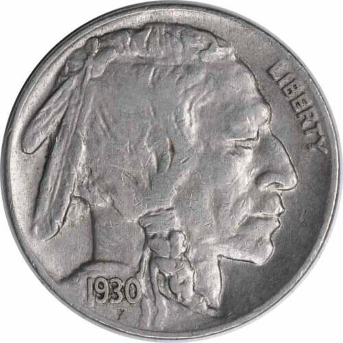EF Uncertified 1930-P Buffalo Nickel