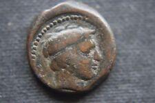 ITALIA ANTICA GRECIA SICILIA GELA Bronzo TRIAS 4th secolo A.C.
