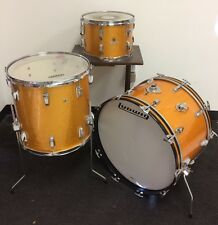 "Vintage Ludwig ""Gold Sparkle"" Drum Set - Made in USA"