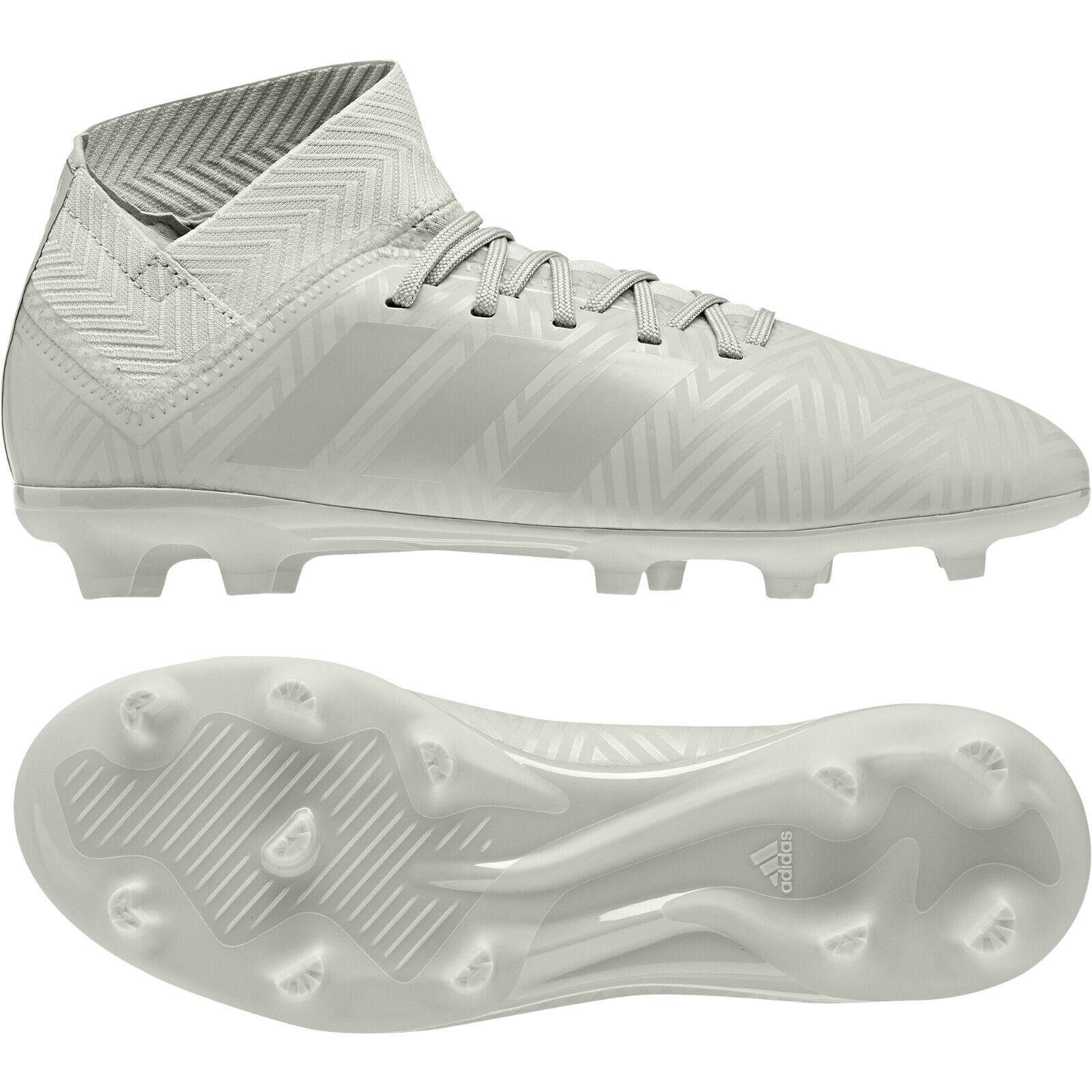 Adidas Nemeziz 18.3 FG J 38 2 3 Kinder Fußballschuhe Firm Ground grau DB2353 NEU