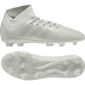 Details about Adidas Nemeziz 18.3 FG J 38 23 Kinder Fußballschuhe Firm Ground grau DB2353 NEU