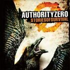 Stories of Survival [PA] by Authority Zero (CD, 2010, Suburban Noize)