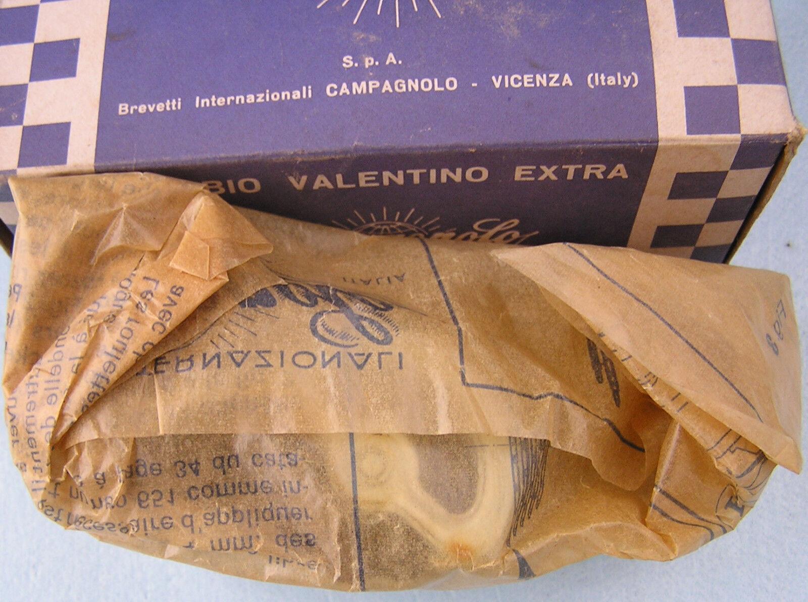Campagnolo Valentino Desviador Trasero De Acero De Caja Corta nunca Montado Nuevas Nos Nib